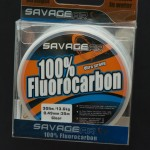 Savage Gear Fluorocarbon 0,49 mm. Rulle med 35 meter