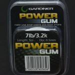 Gardner power gum 7 lb. Rulle med 5 meter
