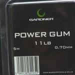 Gardner 11 lb Power Gum. Rulle med 5 meter